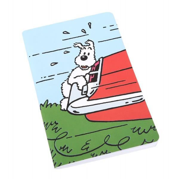 Tintin Notebook Milou Car