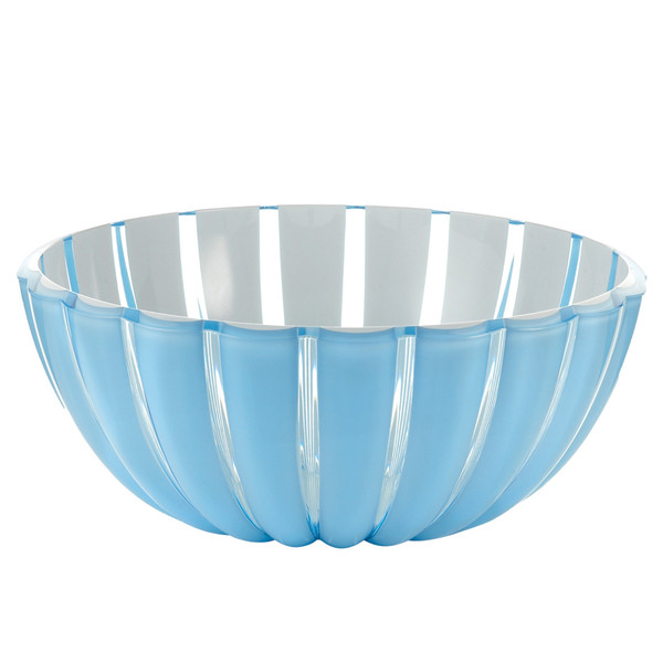 Guzzini_GRACE_25cm_bowl_sea blue