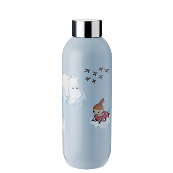 moomin cloud keep cool bottle .75l