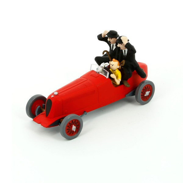Tintin Car Red Bolide