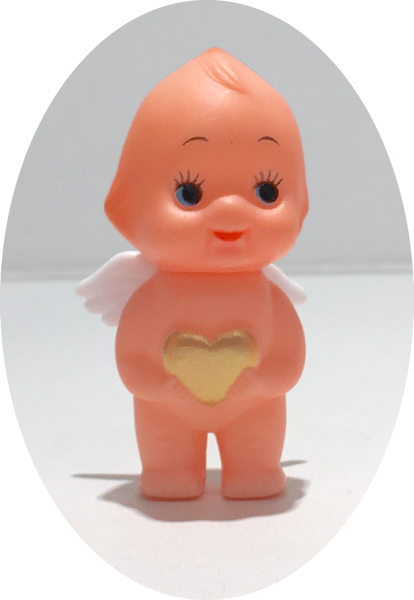 """cupie kewpie japanese 2"""" heart and wings 1"""