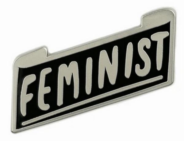 Feminist Enamel Badge