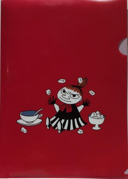 moomin folder little my red