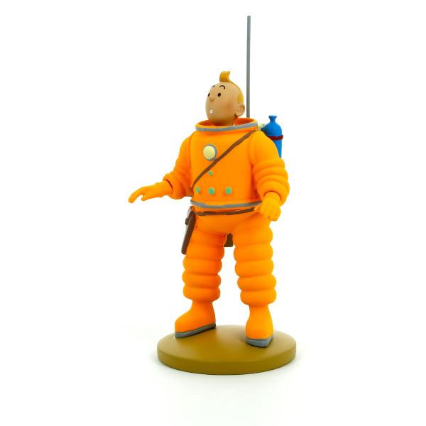 Tintin Figure Moon