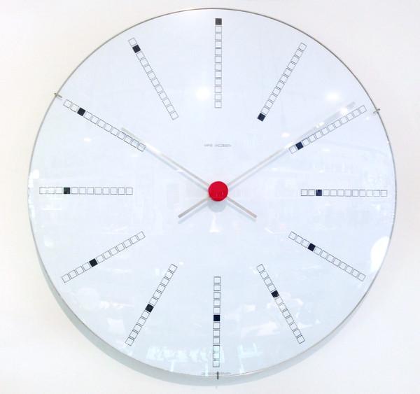 """Arne Jacobsen Banker's Clock 19"""""""