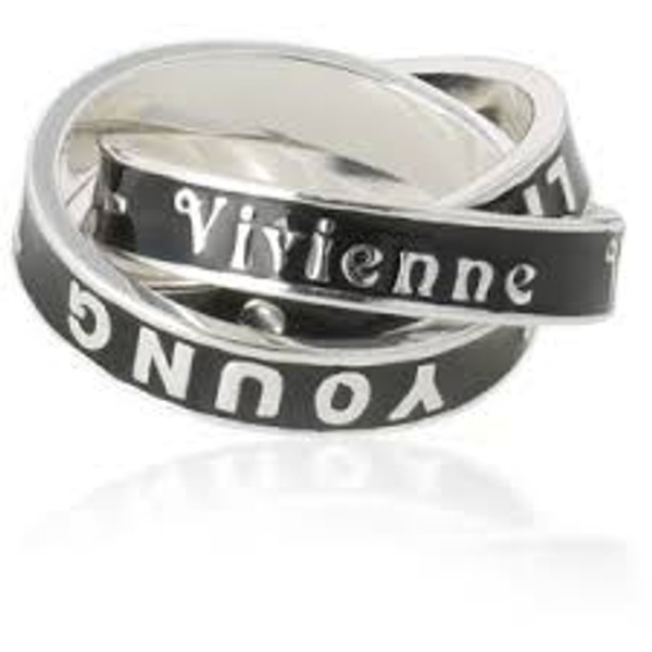 "Vivienne Westwood ""Too Fast to Live, Too Young to Die"" Ring"