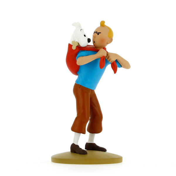 Tintin Figure Carrying Snowy