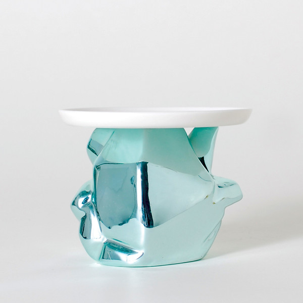 Candy Rock Crystal Mini-plate blue