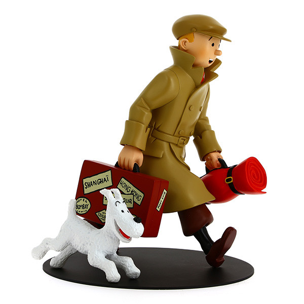 """Tintin """"They Have Arrived !"""" / """"Ils Arrivent !"""" Statuette"""