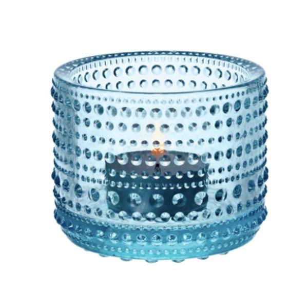 Kastehelmi Tealight light blue