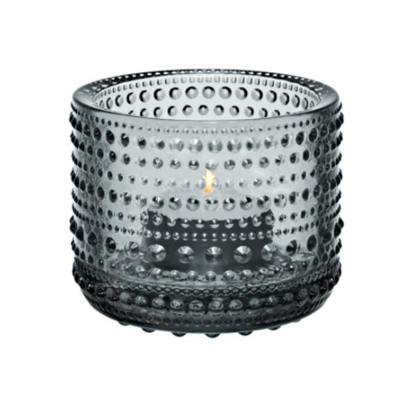 Kastehelmi Tealight grey