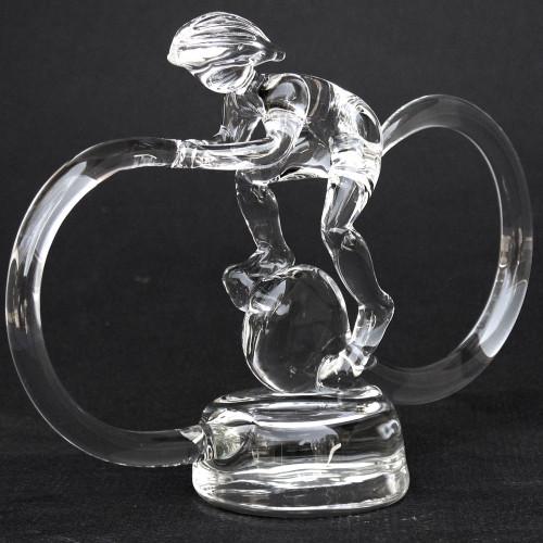 Triathlete Trophy Award Sculpture Male Triathlon Trophies
