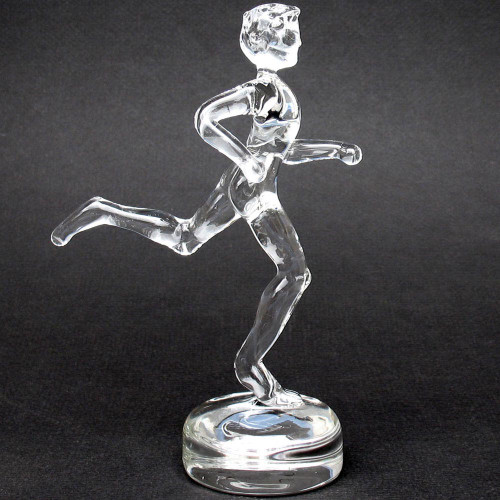 Marathon Runner Trophy Award Male Sculpture Marathoner Trophies