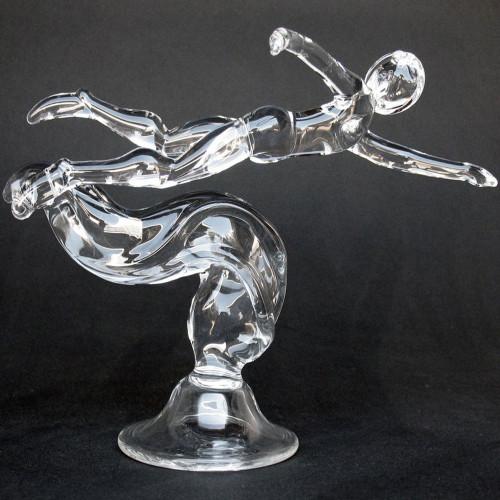 Triathlete Swimmer Award Trophy Sculpture Triathlon Swimming
