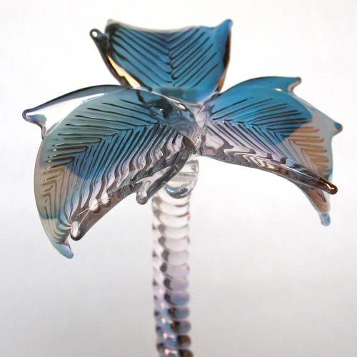 Hand Blown Glass Palm Tree Figurine