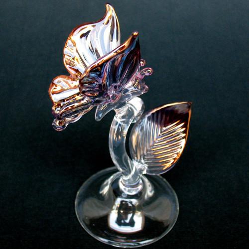 Hand Blown Glass Butterfly