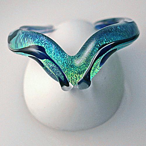 Xeno Pyrex Glass Bracelet - Special - Dichroic D1
