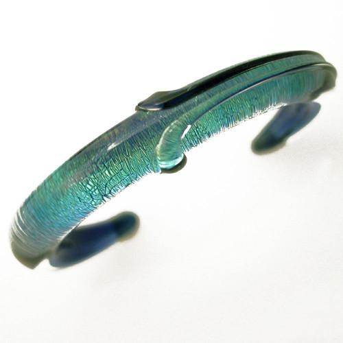 Xeno Pyrex Glass Bracelet - Special - Dichroic D3