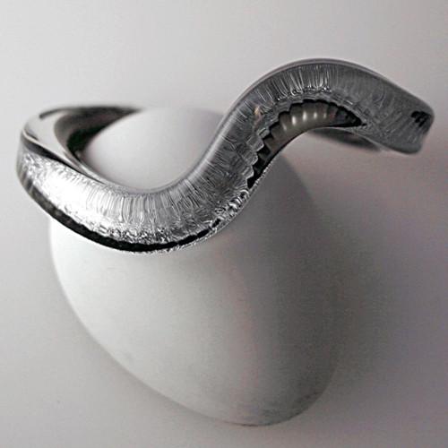 Xeno Pyrex Glass Bracelet - Special - Dichroic D10