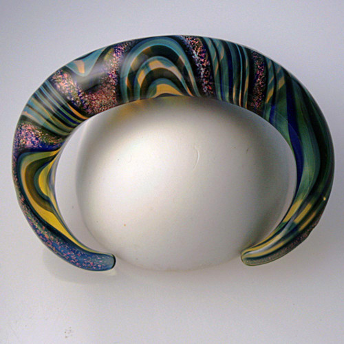 Xeno Pyrex Glass Bracelet - Optical - Dichroic D12