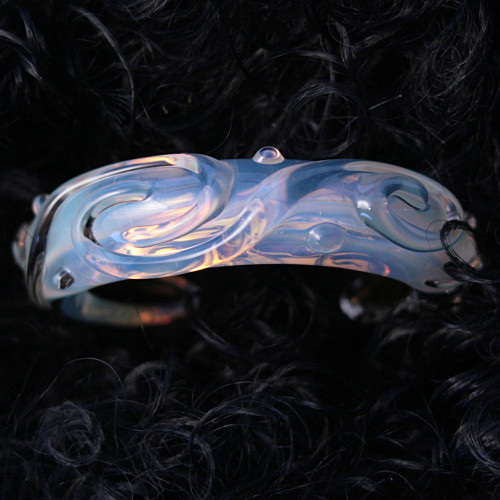 Xeno Pyrex Glass Bracelet - Optical Gfm3