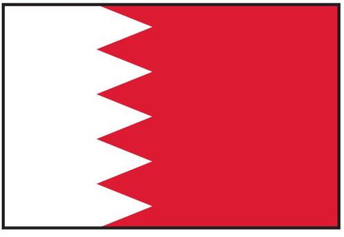 Bahrain Flag Printed Nylon