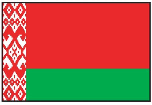 Belarus Flag Printed Nylon