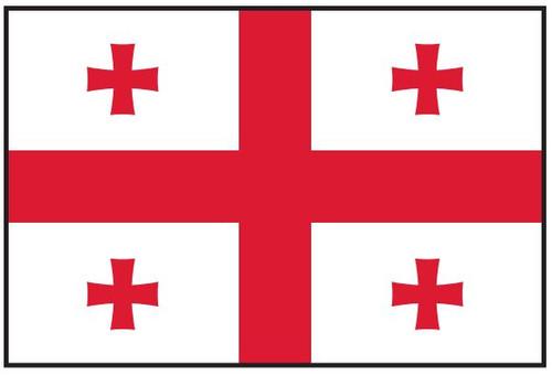 Georgia  Republic Flag Printed Nylon