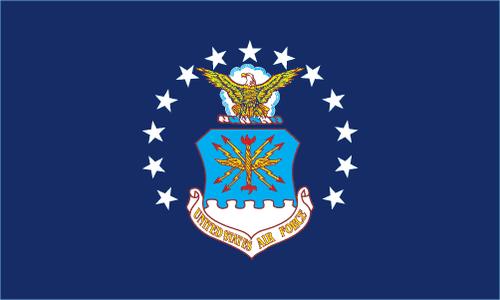 Air Force Flag Printed Nylon