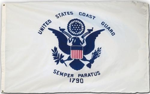 Coast Guard Flag Printed Nylon
