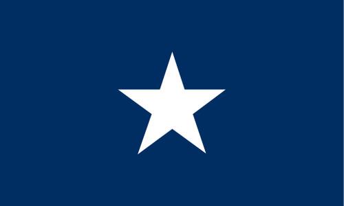Bonnie Blue Historic US Flag 3' x 5' Printed Nylon