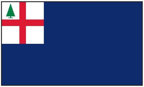 Bunker Hill Historic American Flag 3' x 5' Printed Nylon