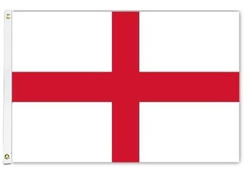 St. George Cross Flag Printed Nylon