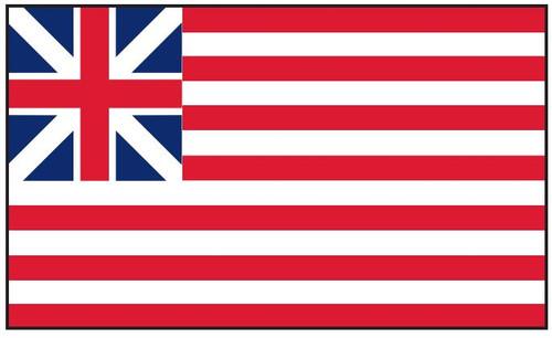 Grand Union Historic American Flag Printed Nylon
