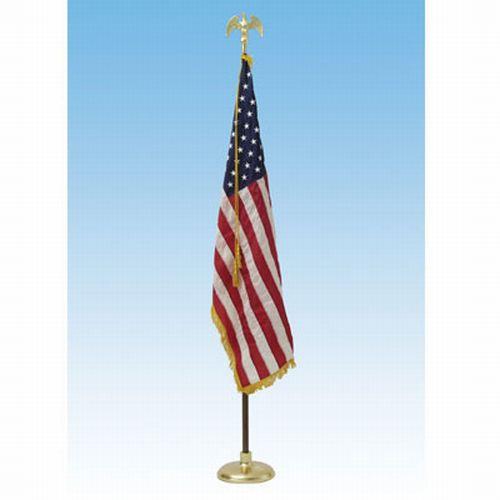 Deluxe US Indoor 3' x 5' Flag Presentation Set