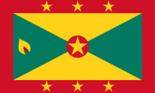"""Grenada Courtesy Flag 12"""" x 18"""" Nylon"""