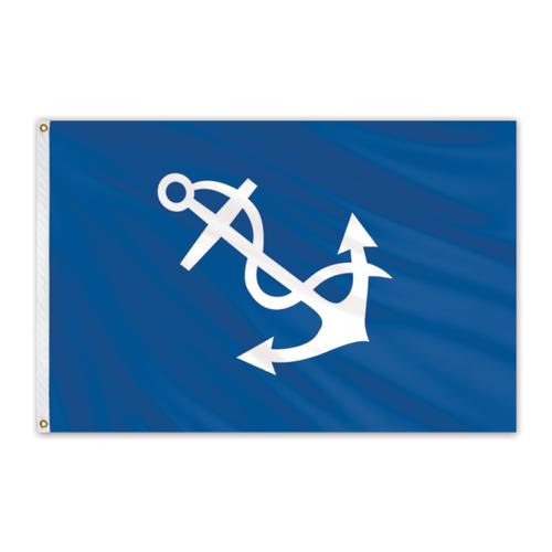 "Port Captain Flag 12"" x 18"""