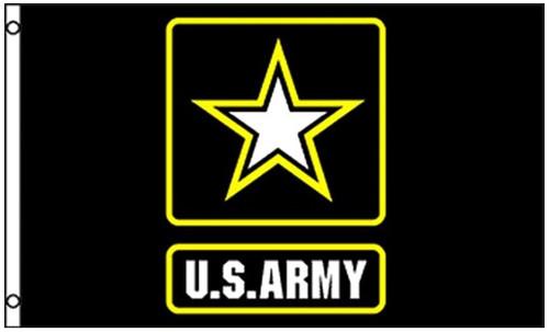 Army Logo Flag Printed Nylon