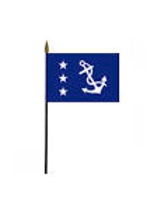 Past Commodore Stick Flag