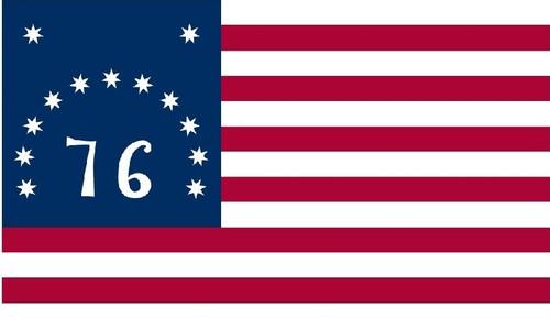 Bennington Historic US Flag