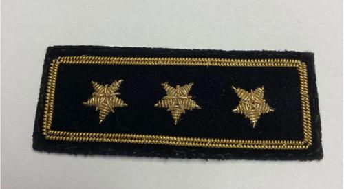 Commodore Insignia Pin