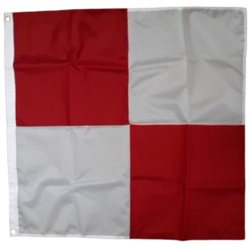 "Uniform ""u"" Code Signal Flag 3' x 3'"