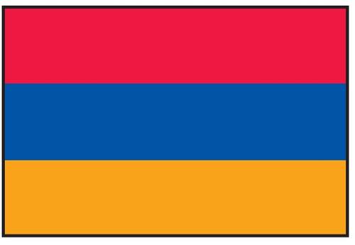 Armenia Flag Printed Nylon