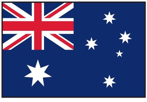 Australia Flag Printed Nylon