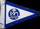 Custom Sewn Applique Yacht Club Pennant