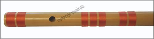 MAHARAJA Bansuri, Scale F Sharp Bass 26.5 Inch Indian Bamboo Flute CGA