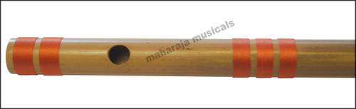 MAHARAJA Bansuri Scale D Sharp Med. 16.5 Inch, Indian Bamboo Flute CFF