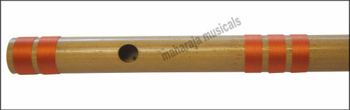 MAHARAJA Bansuri Scale C Sharp Small 9 Inch, Indian Bamboo Flute CFB