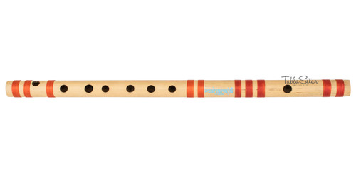MAHARAJA Bansuri Scale C Sharp Med. 18.6 Inch, Indian Bamboo Flute CFA