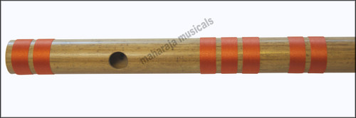 MAHARAJA Bansuri Scale B Natural Bass 20 Inch, Indian Bamboo Flute CEE
